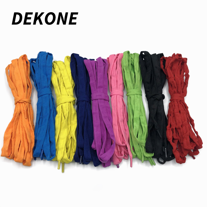 Skate Shoe Laces 180cm Length Quality Cotton Fiber Wear Resistant  9 Color Suitable For Mission Inline Roller Hockey Skates