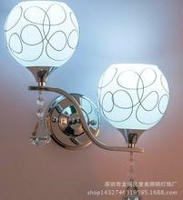 Китайский современные стеклянные стены, лампа, применяются к отели, гостиницы, дома спальня, гостиная, зал