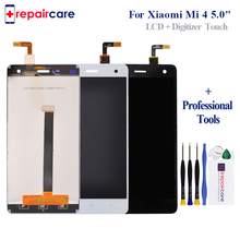 100% Tested IPS LCD for Xiaomi Mi4 5.0 inch 1920*1080 Touch Screen Display For xiaomi MI 4 Digitizer Assembly Free Tools Pats 10pcs 100% tested original new lcd display with touch screen digitizer assembly full sets for xiaomi mi 4 mi4 m4 free shipping