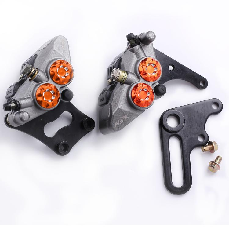 Motorcycle Brake Caliper Front Rear Disc Master Cylinder Caliper Hydraulic 40mm for AVT Dirt Street Bike Yamaha Honda Kawasaki keoghs motorcycle rear hydraulic disc brake set diy modify cnc rpm brake pumb for yamaha scooter dirt bike motorcross motorbike