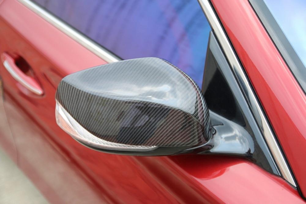Carbon Fiber Side Door Mirror Decoration For Infiniti Q50 Car Accessories