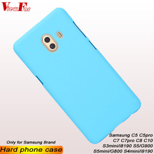 ViewFar Multi Colors Case For Samsung Galaxy C5 C7 Pro C8 C10 S3 S4 S5 Mini Matte Cover C5pro C7pro I8190 I9190 New Hard PC Case цена