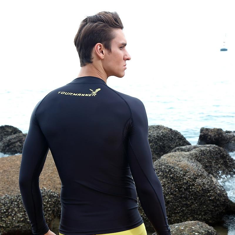 Men s clothing high velocity movement snorkeling tight dry surf wear sportswear