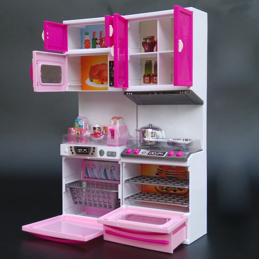 comprar cocina de juguete juguetes para nios para nias cocina pretend juguetes de plstico con efecto de sonido de luz juguetes de nia