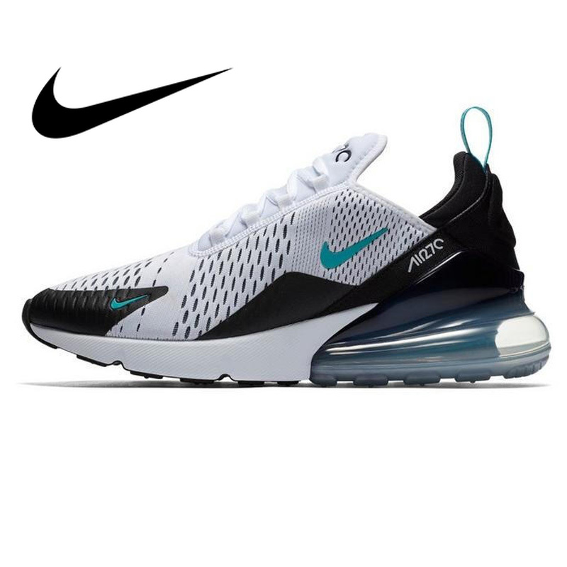 D'origine officiel de NIKE AIR MAX 270 Hommes Chaussures de Course Sneakers Toute la Paume Rembourrage Léger Non-slip Respirant AH8050