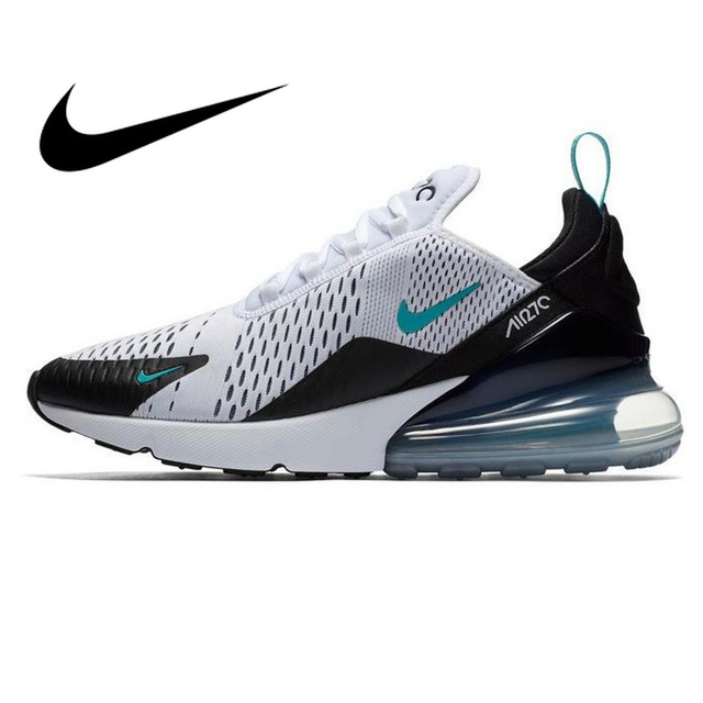 6c73887c07 Official Original NIKE AIR MAX 270 Men's Running Shoes Sneakers Whole Palm  Cushioning Lightweight Non-slip Breathable AH8050