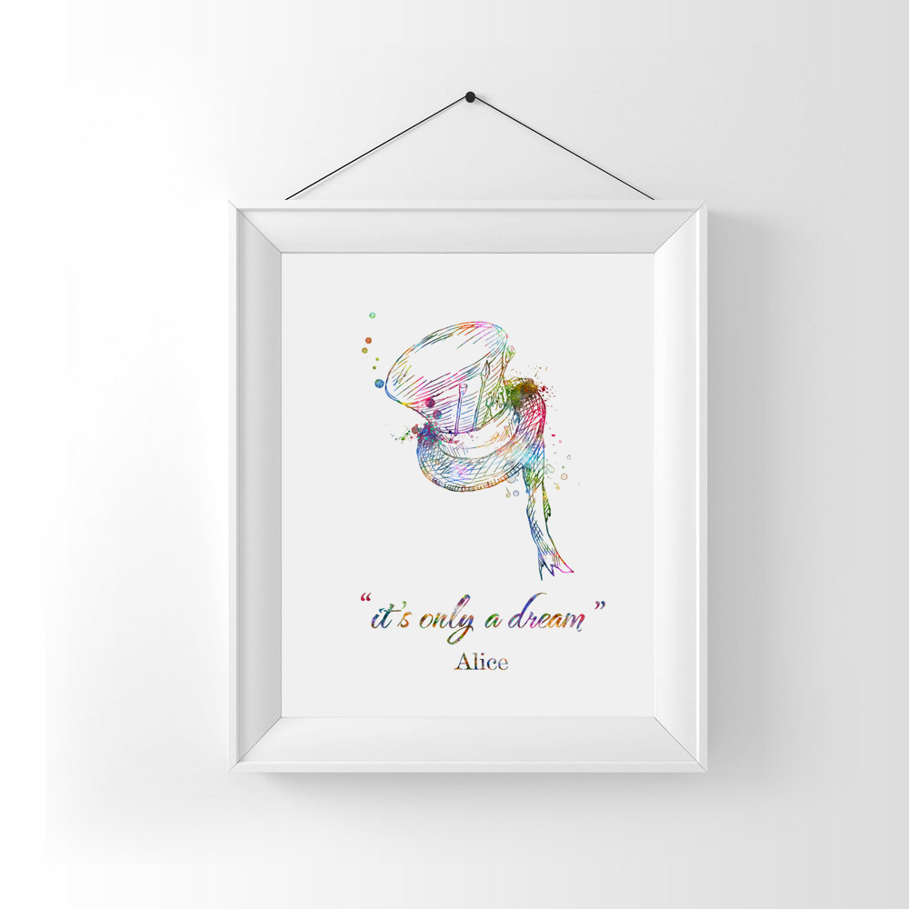 Watercolor Wall Art Prints