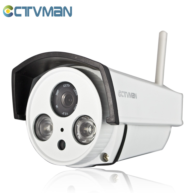 CTVMAN WIFI IP Camera 720P Outdoor Bullet Wireless Camaras De Seguridad SD Card Slot Audio Pickup ONVIF P2P CCTV Security Kamera