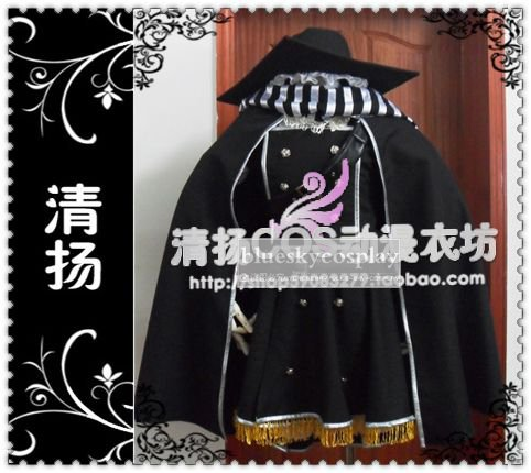 The Touhou Project  Marisa Kirisame Cosplay Costume custom any size Halloween