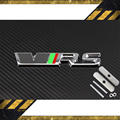 3D ABS Alloy car VRS grill emblem for SKODA RS forOctavia Mk2Racing Sport Front Hood Emblem Badge Auto accessories Free shipping