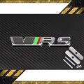 3D ABS de Aleación de coche RS grill emblema para SKODA VRS forOctavia Mk2Racing Deporte Frontal Capucha Emblema Insignia Auto accesorios Envío gratis