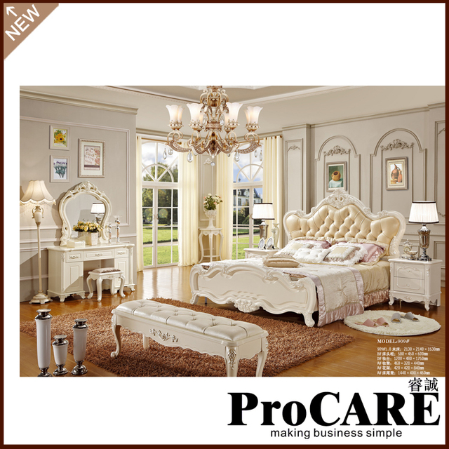 Charmant Best Selling 1.8*2.0m Double Bed Oak Solid Wood Bed Bedroom Furniture