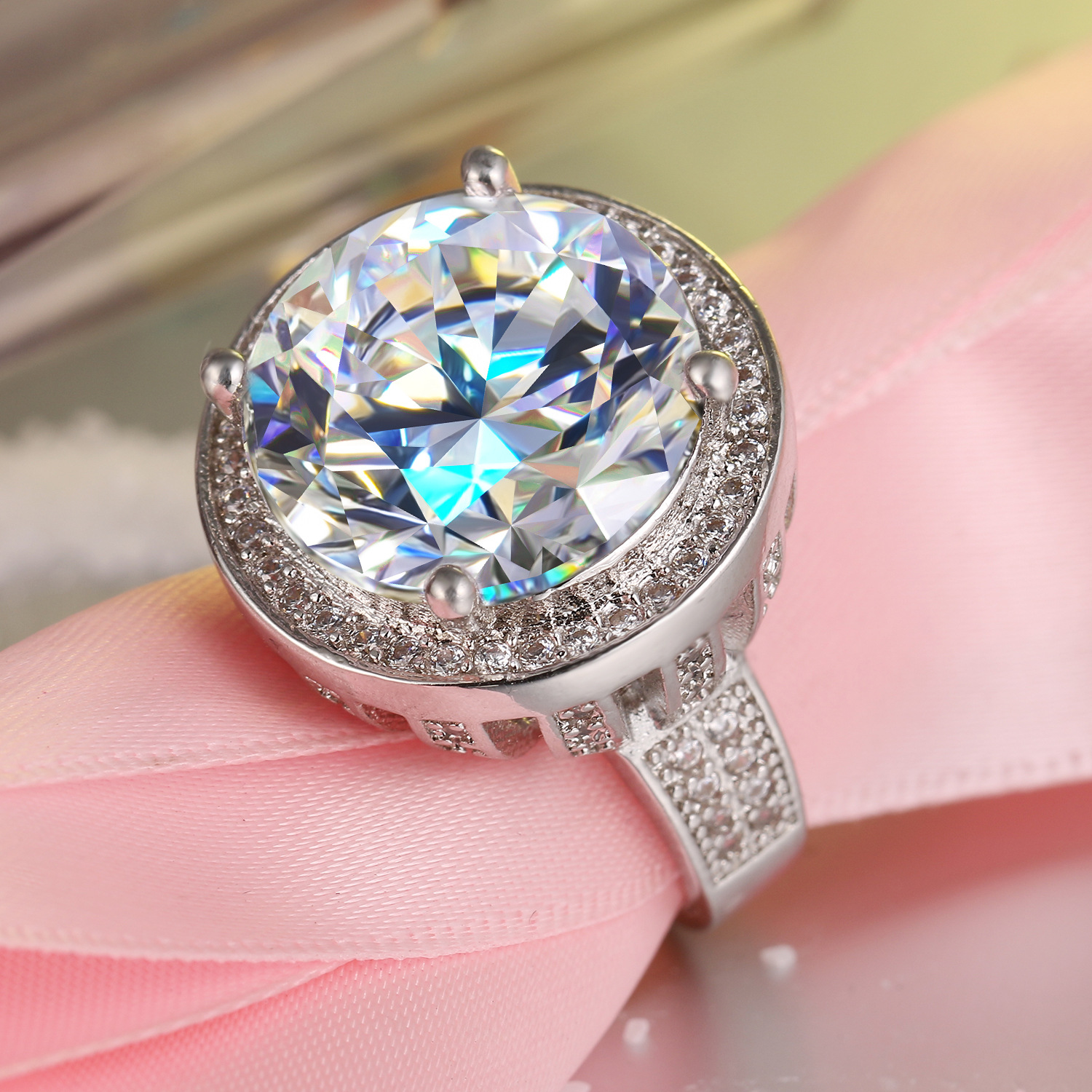 Big wedding rings for women