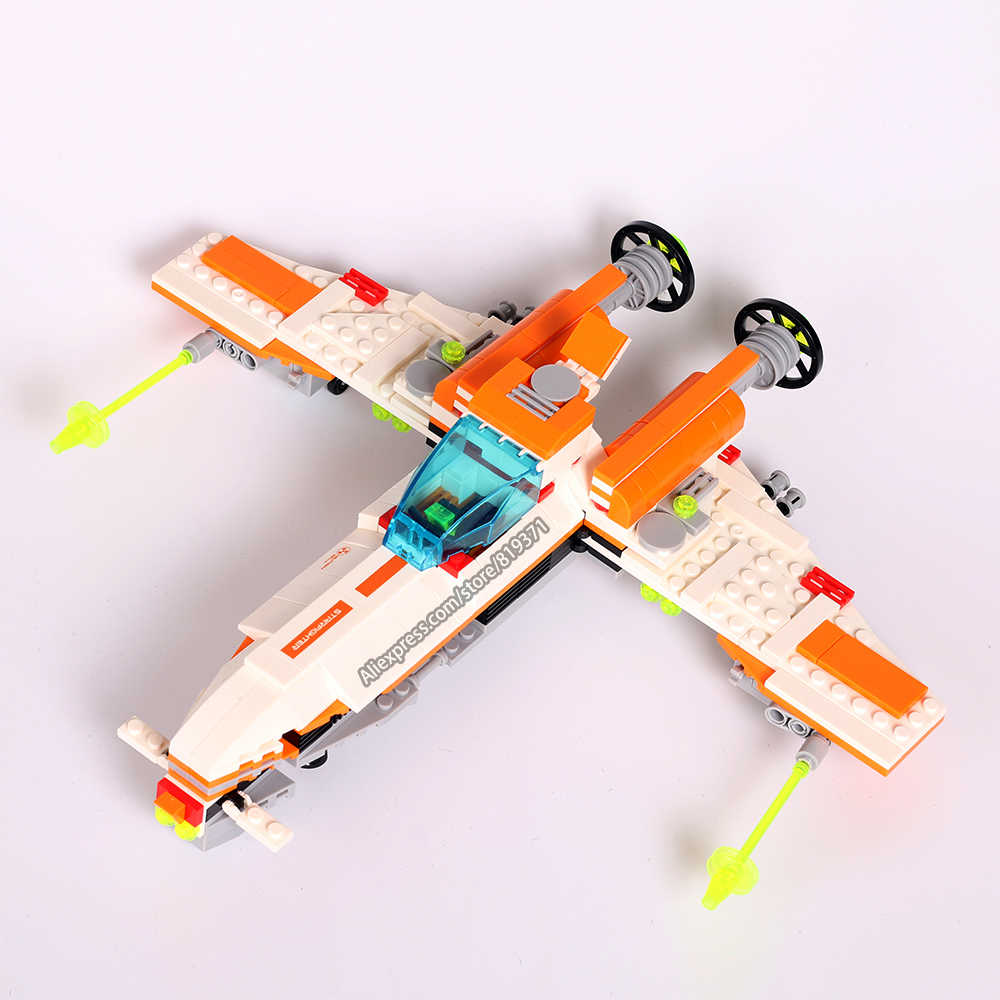 2017 Building Kit Blocks Bricks Educational Star Wars X-Wing Airplane Model Toy Kids Compatible with legoeINGlys 55174