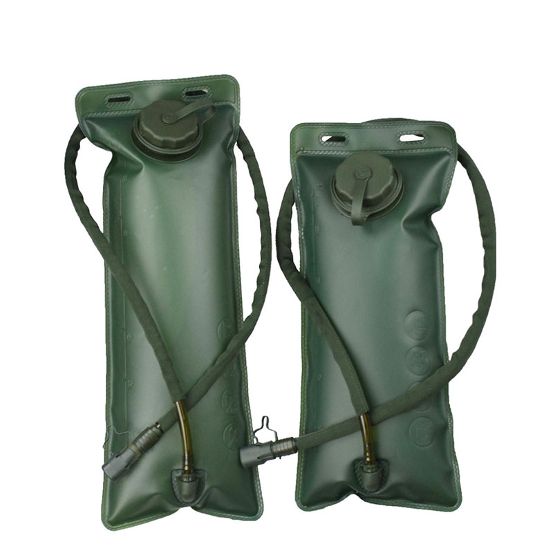 1pc 2 5 3L Water Bags Solid Outdoor Camping Hiking Nice Soft Flask Sports Cycling Running