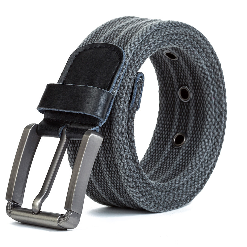 110cm-140cm Men's Quality Canvas   Belts   for Jeans Male Luxury Casual Straps Buckle Strap Knitted Tactical   Belts   For Men Ceintures