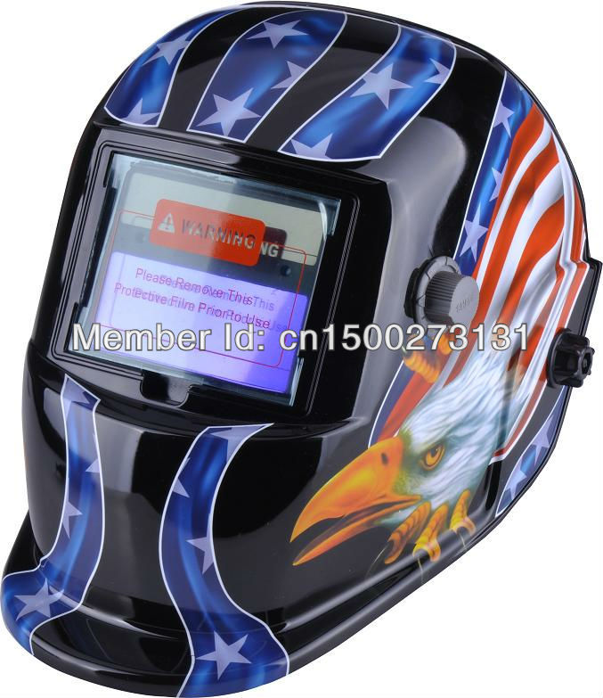 цена на Solar auto darkening welding helmet/mask for the MIG MAG TIG MMA welding machine and CUT plasma cutter