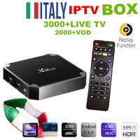 Italy IPTV Box X96mini TV Box Android 7 1 2 WIFI 4K HD Smart Media Player