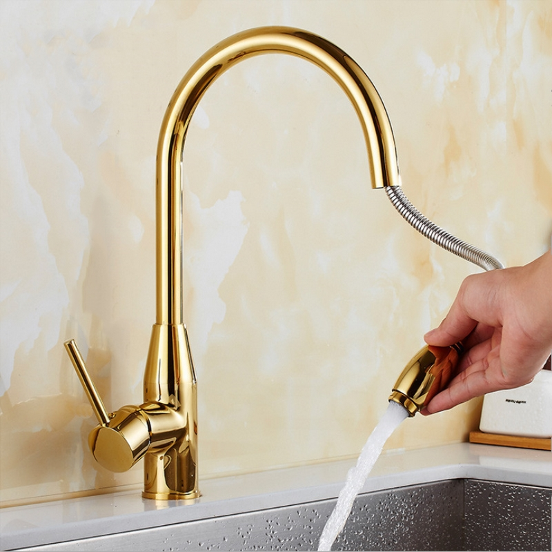 New Arrival Kitchen Faucet Brass Kitchen Sink Pull Out Kitchen Faucet Sink Tap Mixer with Pull Out Shower Head  New Arrival Kitchen Faucet Brass Kitchen Sink Pull Out Kitchen Faucet Sink Tap Mixer with Pull Out Shower Head