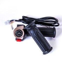 48v e-bike skuter przepustnicy z wskaźnik zasilania wyłącznik zasilania/bieg wsteczny/światło Bicicleta Eletrica akcelerator