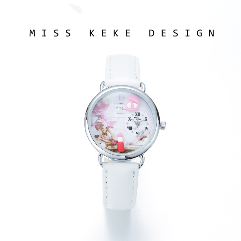 Miss Keke 2018 New Design Clay Cute Geneva Gift Niños Dress Girl - Relojes para mujeres