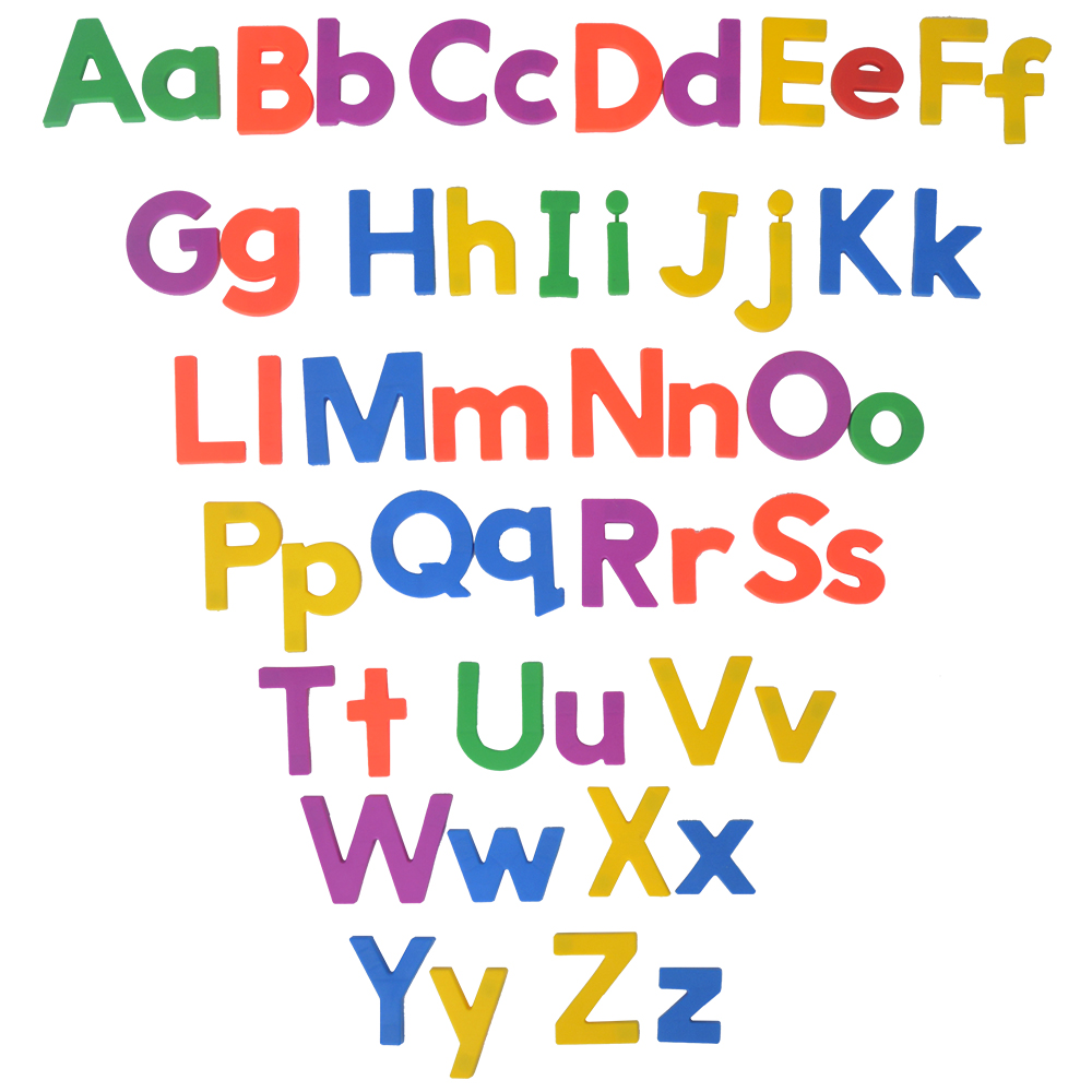 Telecool Big Size 26pcsset Upper Lower Case Letters Aphabet