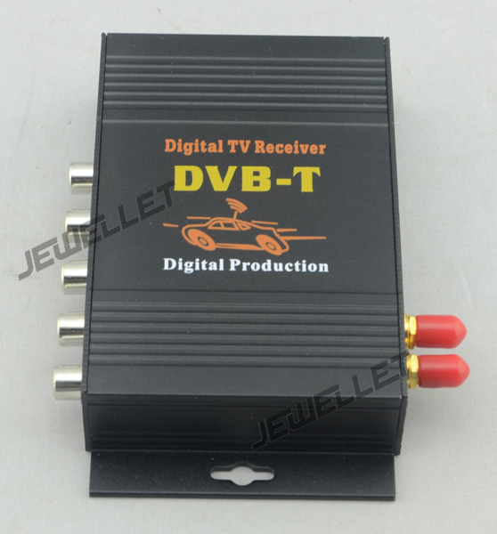 Supaer deal Free shipping Latest MPEG 4 HD DVB T Receiver with AV output and USB