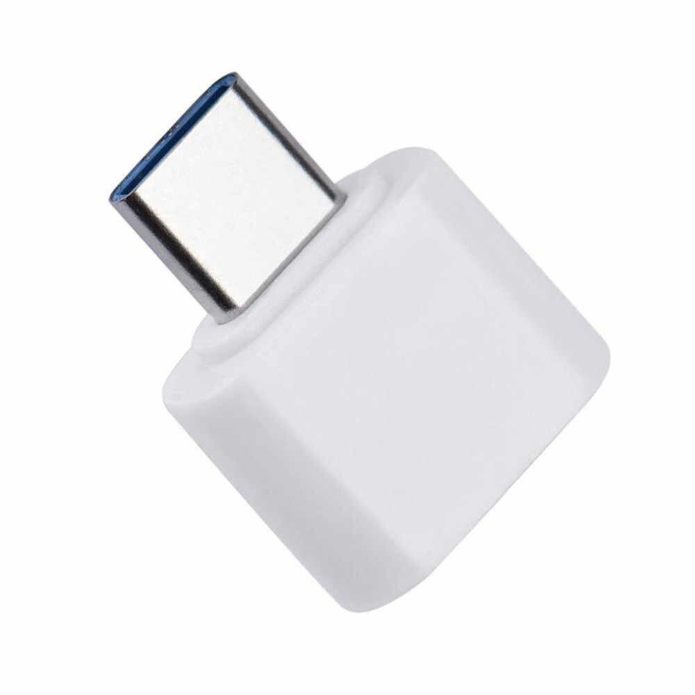 OTG typu C USB 3.1 do USB2.0 typu Adapter łącznik do Samsunga Huawei telefon Usb męski na żeński Usb rozszerzenie