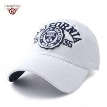 Brand Baseball Caps Letter California Unisex For Women Men Hats Snapback Casual Embroidery Sport Cap Golf Gorras White Hat ZB024