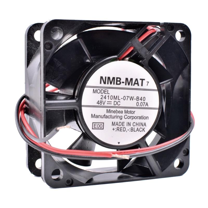 COOLING REVOLUTION 2410ML-07W-B40 6cm 6025 48V 0.07A Inverter server cooling fan