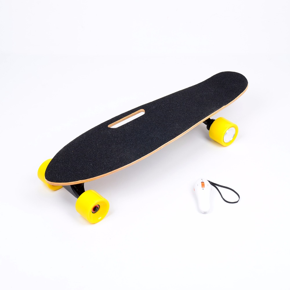 Bluetooth wireless Control Electric Hoverboard Skateboard Boosted Canadian Maple Panel Material 4 Wheel