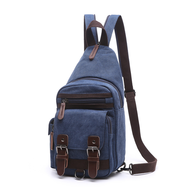 2017 The New Version Of The Korean Shoulder Bag Trend Leisure Canvas Oblique Shoulder Men And Women Breast Bag School Backpack korean version canvas shoulder bag backpack student bag ladies cartoon cute new child birthday gift