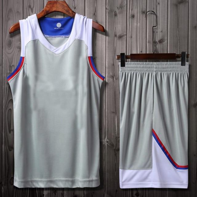 692377c2b11 Men Women Professional Basketball Jersey Youth Basketball Uniforms Set T  Shirt and Shorts Street Basketball Training Jerseys