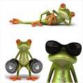 Новое прибытие 3D Лягушки Смешные Наклейки стайлинга автомобилей этикеты винила стикер украшения Высокая температура и вода Доказательство