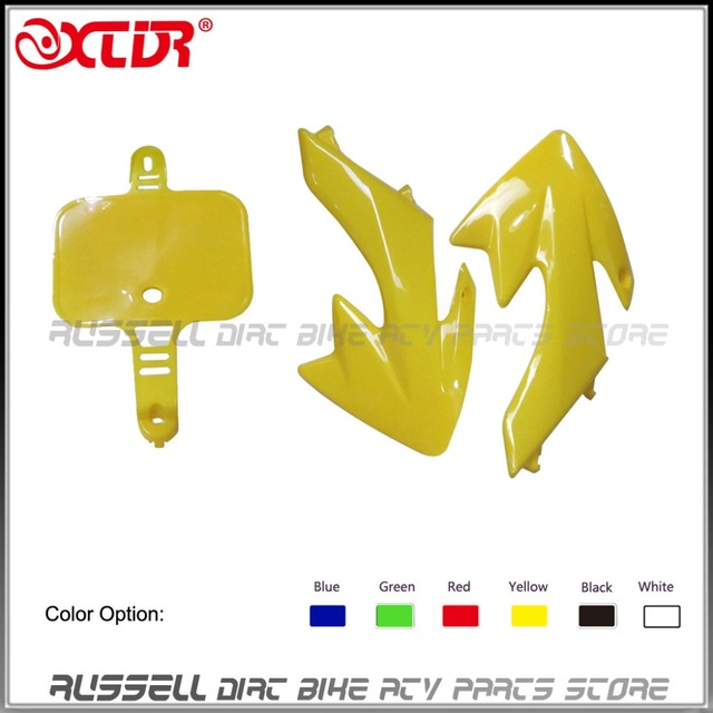CRF50 Fender Plastic Number Plate and fuel tank plastic cover Protector for Honda CRF XR 50  sc 1 st  AliExpress.com & CRF50 Fender Plastic Number Plate and fuel tank plastic cover ...