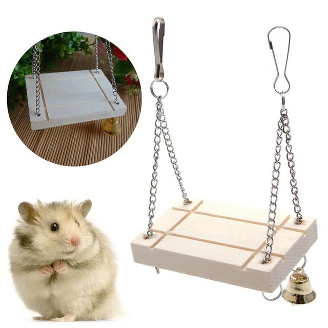 Wooden Swing for Hamster