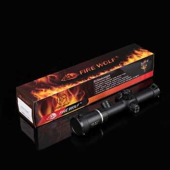 2-7X24 New Riflescopes Rifle Scope Hunting Scope w/ Mounts Free shipping
