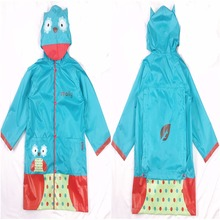 90-145CM waterproof raincoat for children kids baby rain coat poncho boys girls primary school students jacket