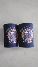 Promotional Stubby Holders With Customized LOGO Pattern Printing For Wedding Gift Can Cooler With LOGO Free