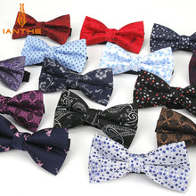 Bowtie Men Formal Dot Necktie Boy Men's Fashion Business Wedding Bow Tie Male Dress Shirt Krawatte Legame Gift Paisley Butterfly(China)