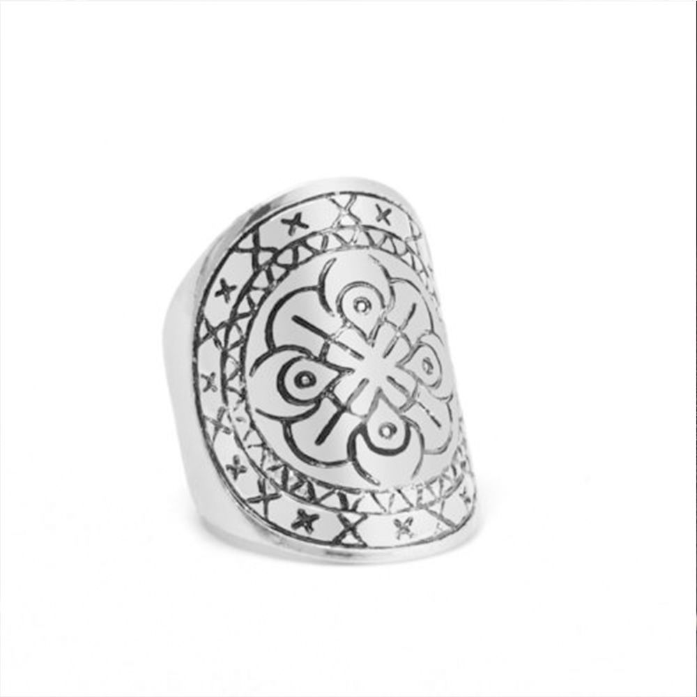 Fashion Ancient Silver Color Vintage Bohemian Ethnic Style