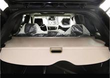 Car Rear Trunk Security Shield Shade Cargo Cover For Jeep Grand Cherokee 2006-2010 / 2011-2017 (Black beige)