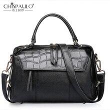 Из натуральной кожи Для женщин Сумочка Мода камень узор леди сумка бренд Для женщин сумка Для женщин плеча Бостон сумки сумка мешок mai