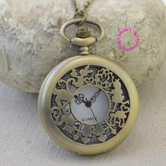 ᓂhurtownie Moda Kwarcowy Zegarek Kieszonkowy Antyczne Kobieta