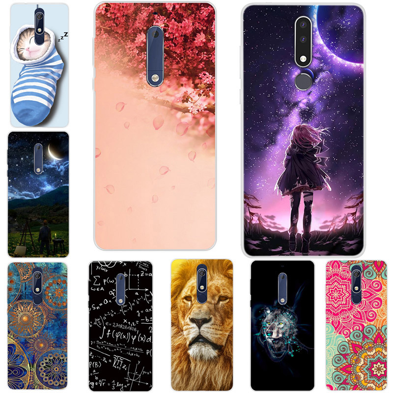 For <font><b>Nokia</b></font> 3.2 4.2 2.2 <font><b>7.1</b></font> 7.2 Case Silicone TPU Soft Phone <font><b>Back</b></font> <font><b>Cover</b></font> Coque Bumper For <font><b>Nokia</b></font> 3.2 2019 Case for <font><b>Nokia</b></font> 8.1 1 plus image