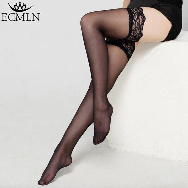 6 cores Sexy Estilista de Moda Das Mulheres Das Senhoras Lace Top Permanecem Acima Da Coxa Alta Meias Discotecas Meia-calça