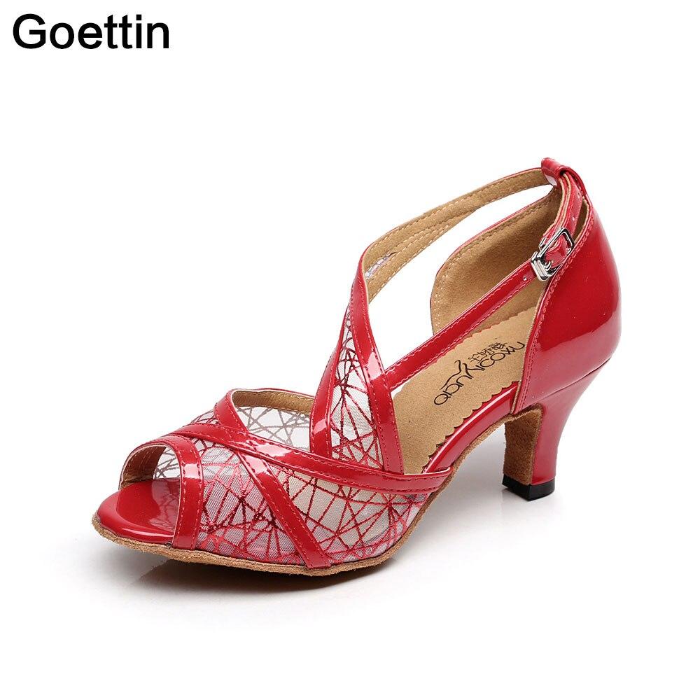 Ζεστό πωλώντας latin παπούτσια χορού - Πάνινα παπούτσια - Φωτογραφία 4