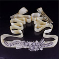 TOPQUEEN women's S182 handmade Rhinestone Wedding evening dress sash Belts Bridal bride Belt Sashes for the party