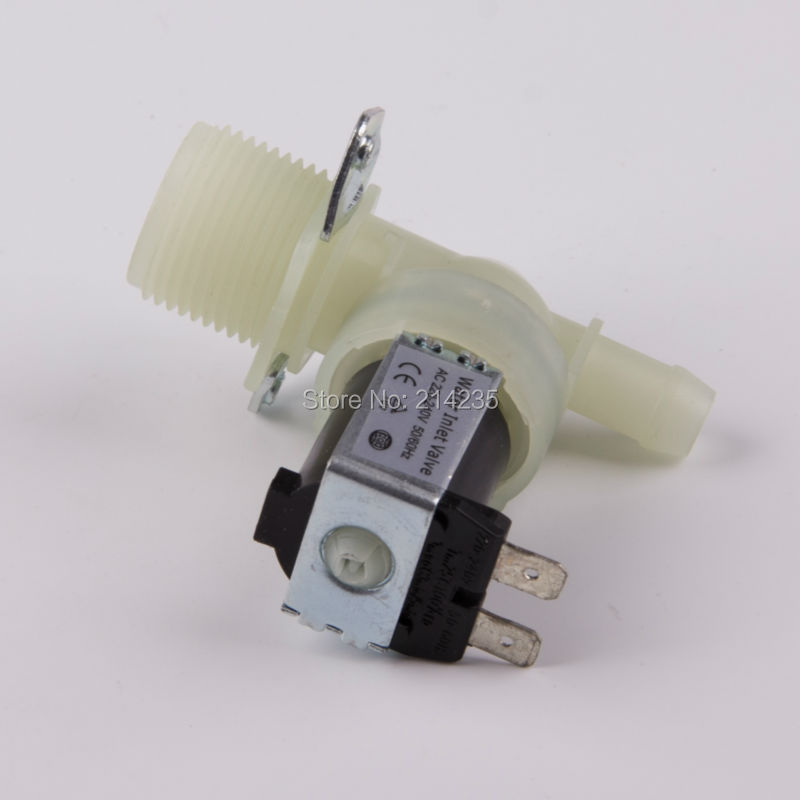 ultra durable washing machine water inlet valve JSF2 single inlet solenoid valve common washer replacement assembly b1jx self washing machine pvc inlet pipe white silvery grey 2 8m