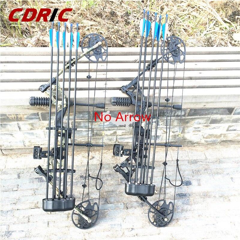 Ensembles d'arc et de flèche à poulie composée 30-70 lbs réglable chasse à l'arc Sports de plein air chasse tir - 2